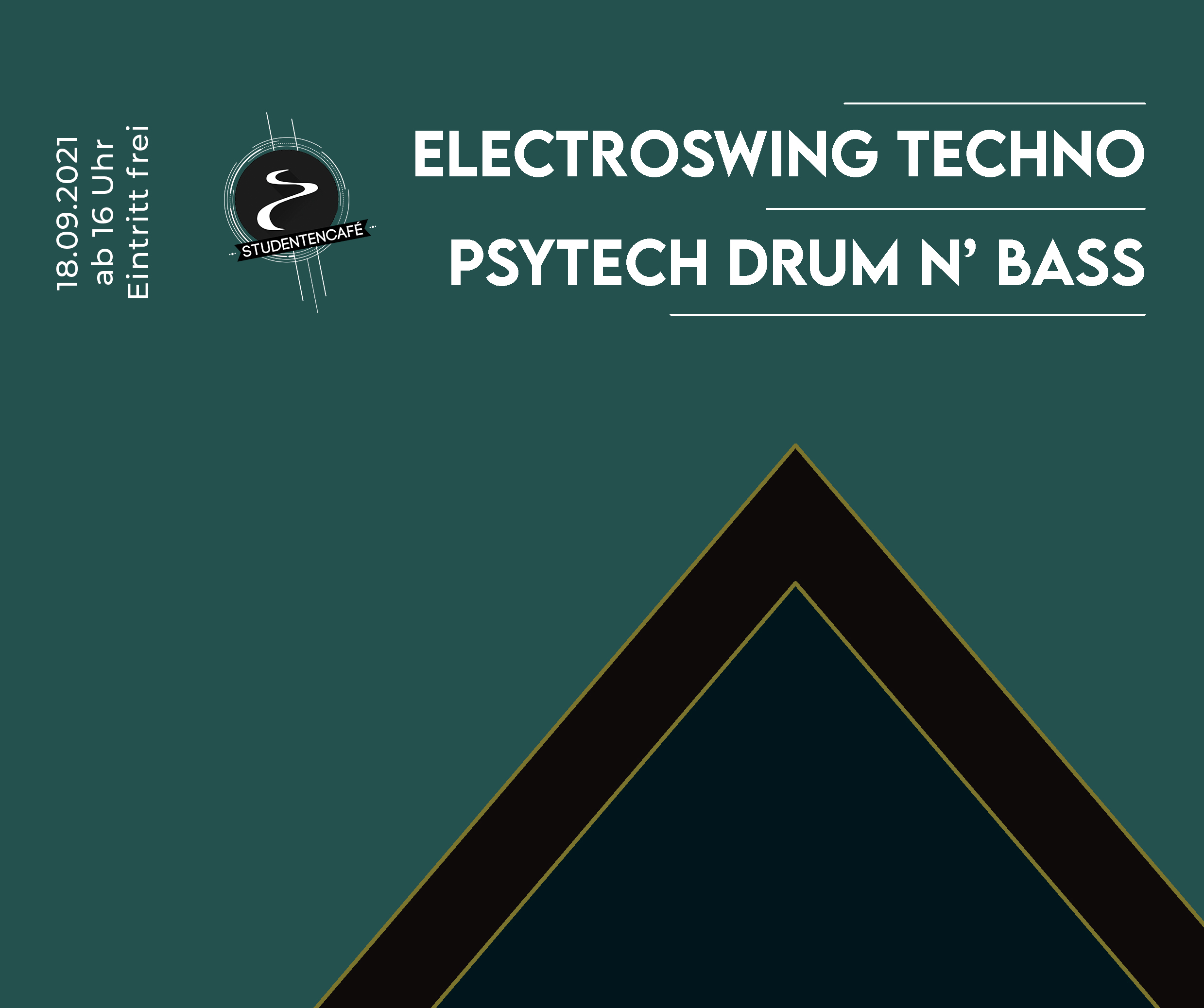 Event zur Kulturnacht in Ulm am 18.09. ab 16 Uhr Eintritt Frei Electroswing, Techno, Psytech, Drum n Bass